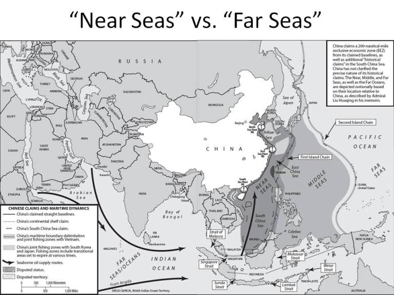 China near seas far seas