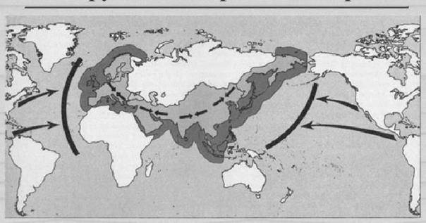 the rimland thesis 3 nicholas spykman (1893-1943) dutch-american political geographer  develops the rimland theory largely draws on and extends mackinder's  heartland.