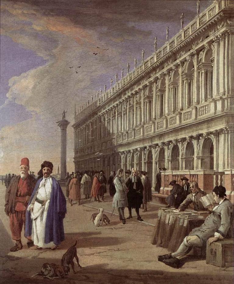 Carlevaris_Luca-The_Piazzetta_and_the_Library