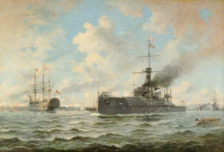 Copyright HMS Excellent / Supplied by The Public Catalogue Foundation