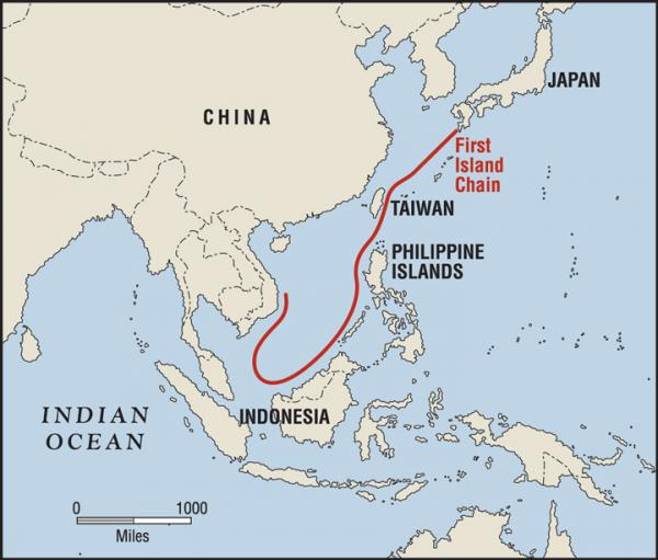 first island chain