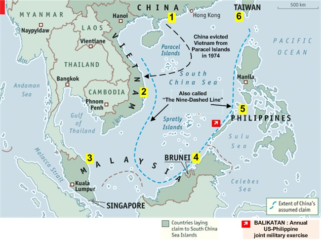 Island Building In South China Sea Access To Resources