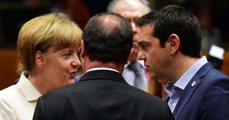German-Chancellor-Angela-Merkel-French-President-Francois-Hollande-and-Greek-Prime-Minister-Alexis-Tsipras