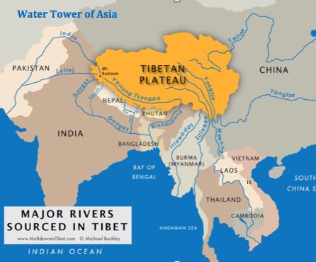 rivers-tibet
